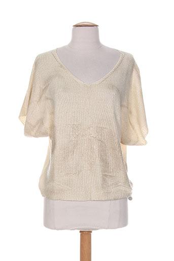 blanc boheme pulls femme de couleur beige