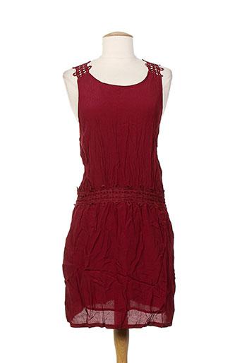just addict robes femme de couleur rouge