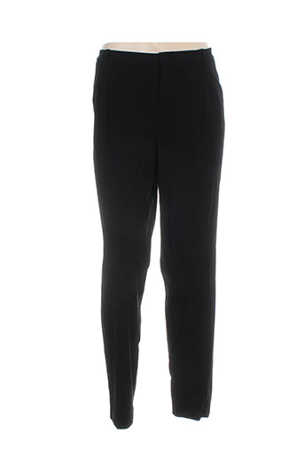 oui pantalons femme de couleur noir