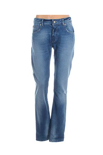 idenim jeans homme de couleur bleu