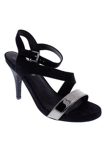 les et p et tites et bombes sandales et nu et pieds femme de couleur noir