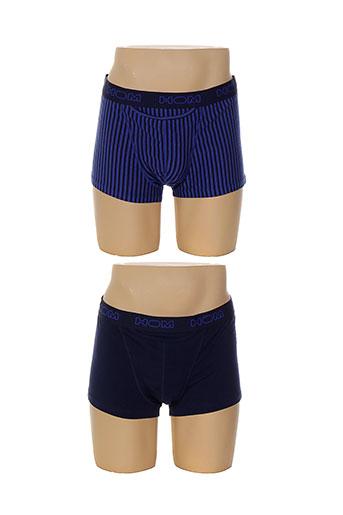 hom shortys et boxers homme de couleur bleu