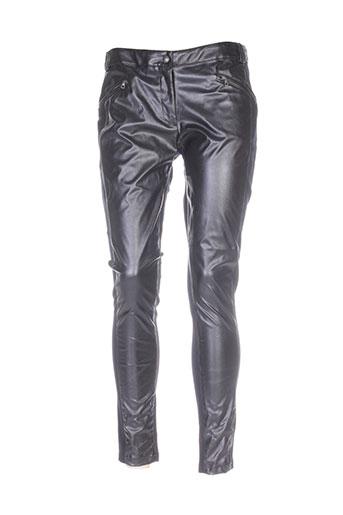 rivieres de lune pantalons femme de couleur marron