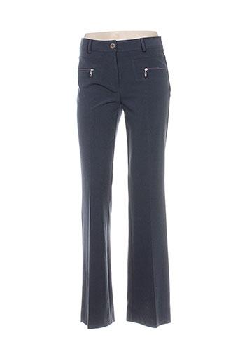 joseph ribkoff pantalons femme de couleur bleu