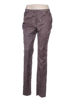 Pantalon casual marron PAUPORTÉ pour femme