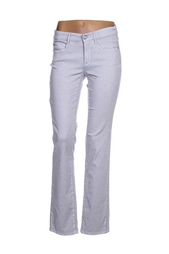 ascari pantalons femme de couleur gris