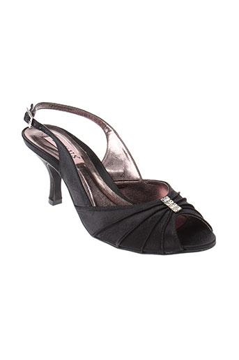 lexus chaussures femme de couleur noir