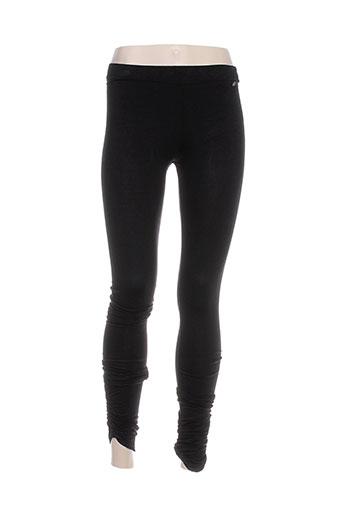 amy et gee leggings femme de couleur noir