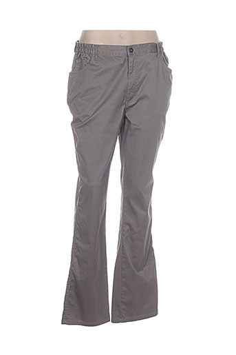 Nouveau tbs pantalons femme de couleur gris