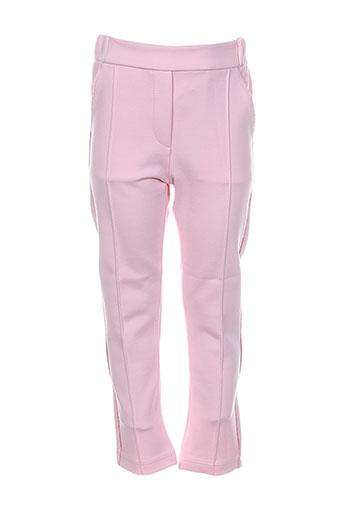 bulle et de et bb pantalons et decontractes fille de couleur rose