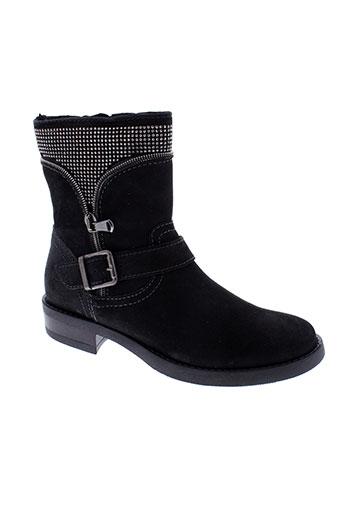 santafe boots femme de couleur noir