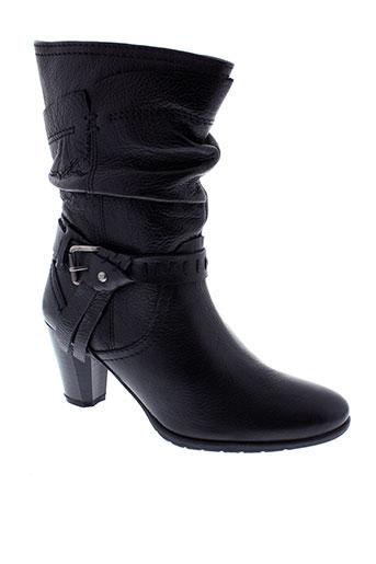stressless bottines femme de couleur noir