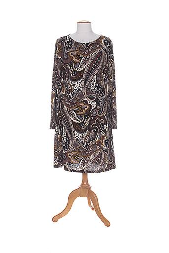crazy wool robes femme de couleur marron