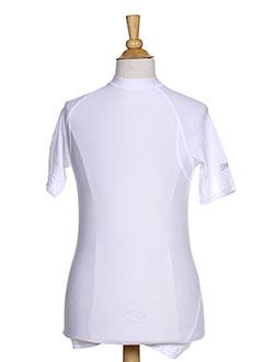 T-shirt manches courtes blanc SPALDING pour garçon