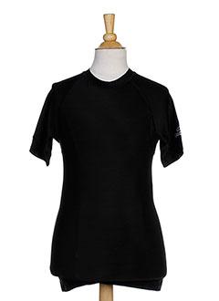 T-shirt manches courtes noir SPALDING pour garçon