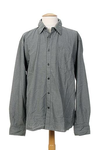 tom tailor chemises homme de couleur gris