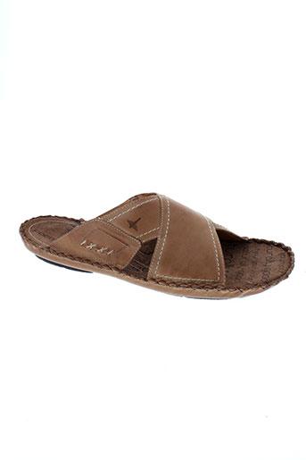 pikolinos chaussures homme de couleur beige