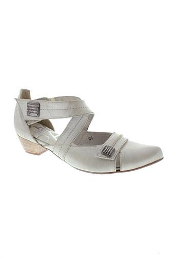 pomares vazquez chaussures femme de couleur beige