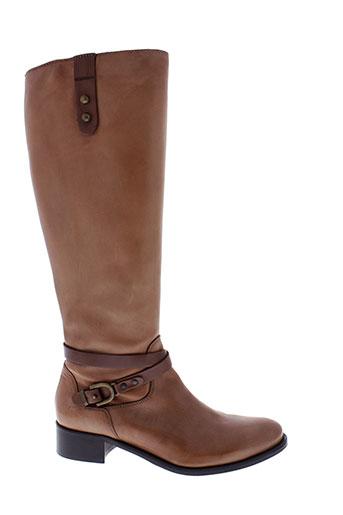mally bottes femme de couleur marron