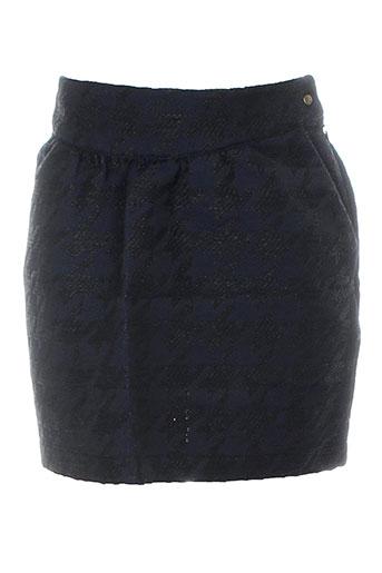 frenchtrotters jupes femme de couleur bleu