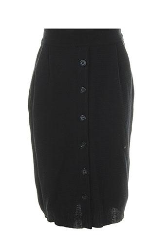 Jupe mi-longue noir EROTOKRITOS pour femme