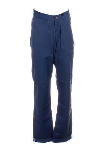 ben sherman pantalons homme de couleur bleu