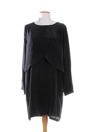 anna studio robes femme de couleur noir