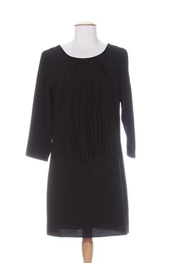 Robe mi-longue noir DEUX TWO pour femme