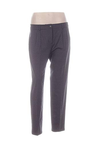 pablo gerard darel pantalons femme de couleur gris