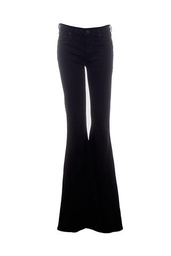 hudson pantalons et decontractes femme de couleur noir