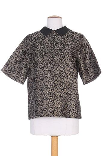 frenchtrotters chemises femme de couleur noir