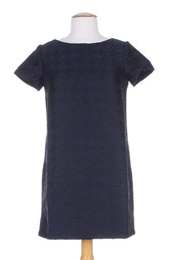 Robe mi-longue bleu FRENCHTROTTERS pour femme