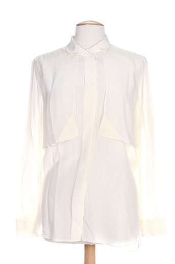 by malene birger chemises femme de couleur beige