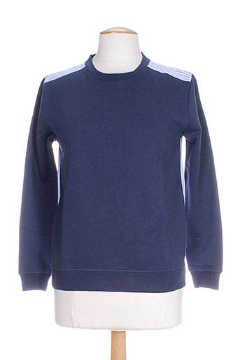 Sweat-shirt bleu CUSTOMMADE pour femme
