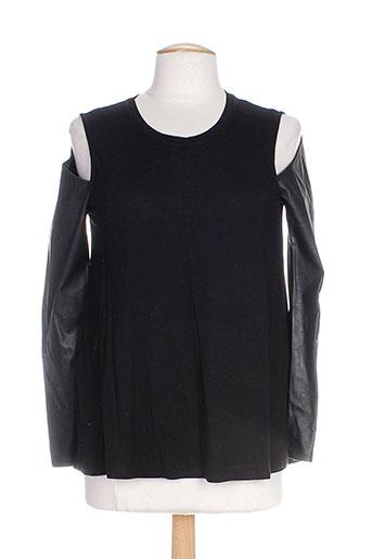 bcbgmaxazria chemises femme de couleur noir