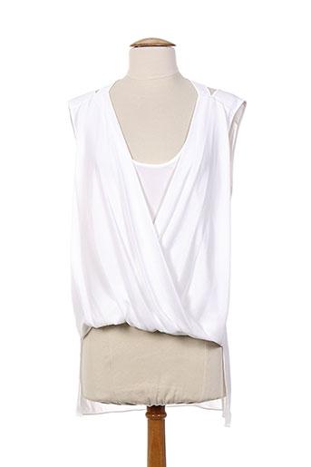 bcbgmaxazria chemises femme de couleur blanc
