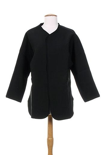 Veste casual noir BONSUI pour femme