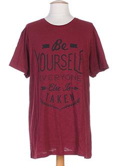 Produit-T-shirts / Tops-Homme-BEST MOUNTAIN