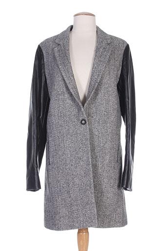 replay manteaux femme de couleur gris