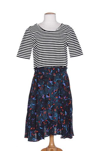 numph robes femme de couleur bleu
