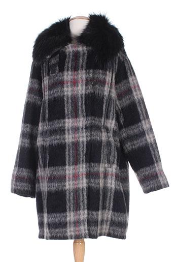 oakwood manteaux femme de couleur gris