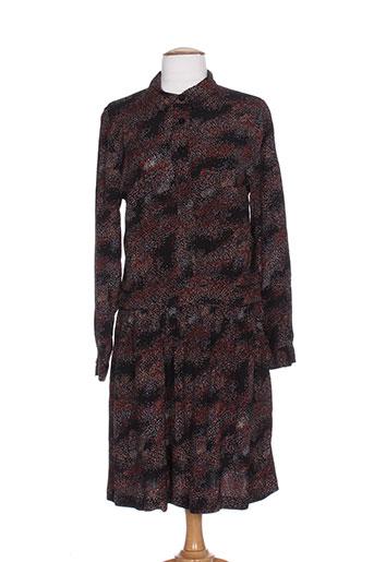 idano robes femme de couleur noir