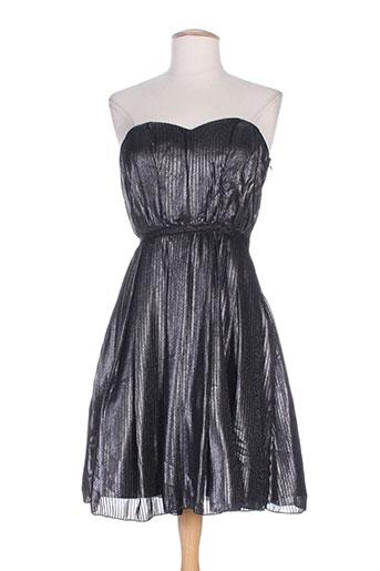 naf naf robes femme de couleur gris