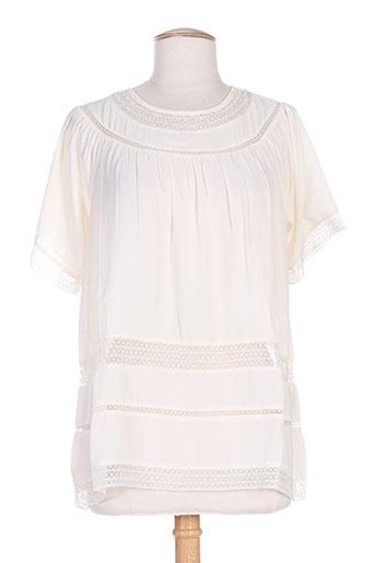 gat rimon chemises femme de couleur beige