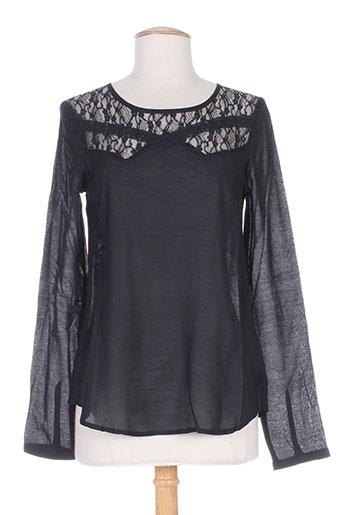 ichi blouses femme de couleur noir