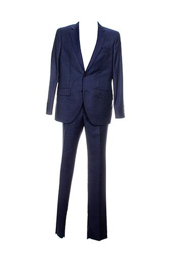 hackett pantalon et veste homme de couleur bleu