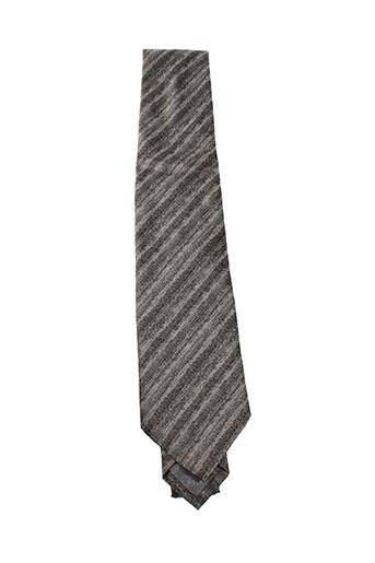 armani cravates homme de couleur gris