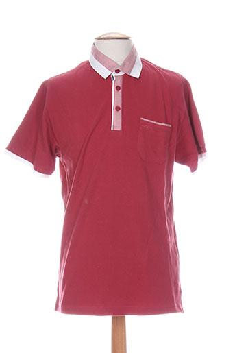 quadro t-shirts homme de couleur rose