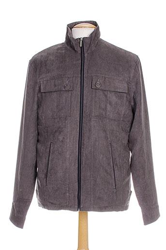 impact vestes homme de couleur gris