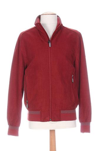 sea barrier vestes homme de couleur rouge